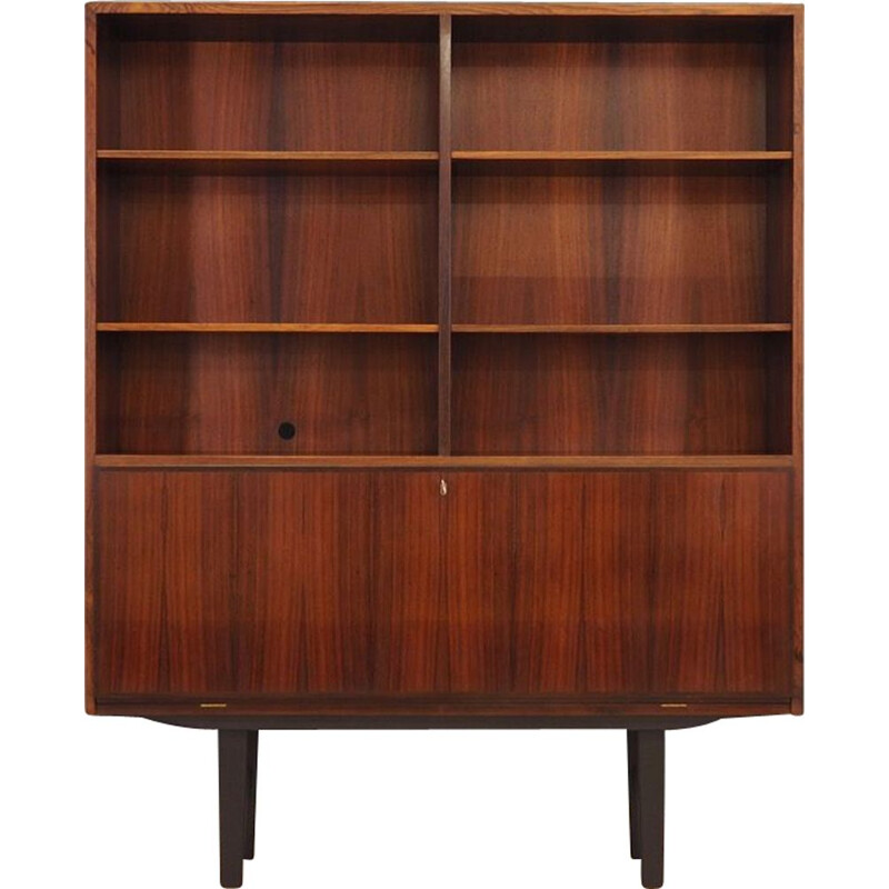 Vintage danish model 7 bookcase by Omann Jun in rosewood 1960