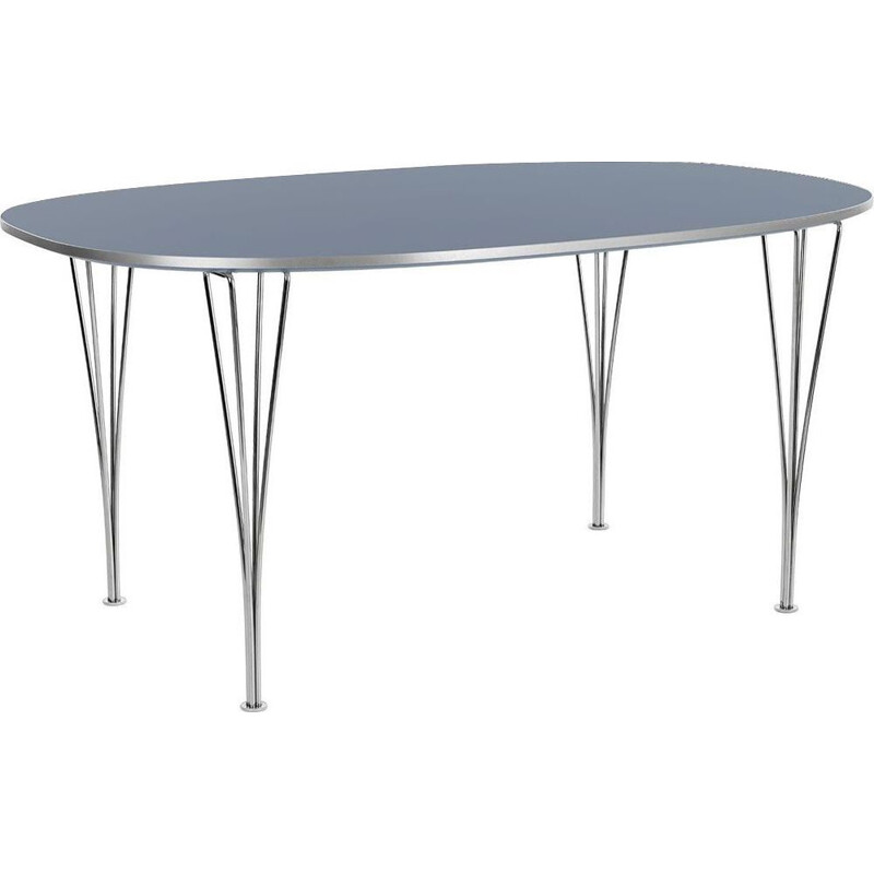 "Dining table ""Super-Elliptical"" 300cm by Piet Hein/Bruno Mathsson/Arne Jacobsen for FRITZ HANSEN"