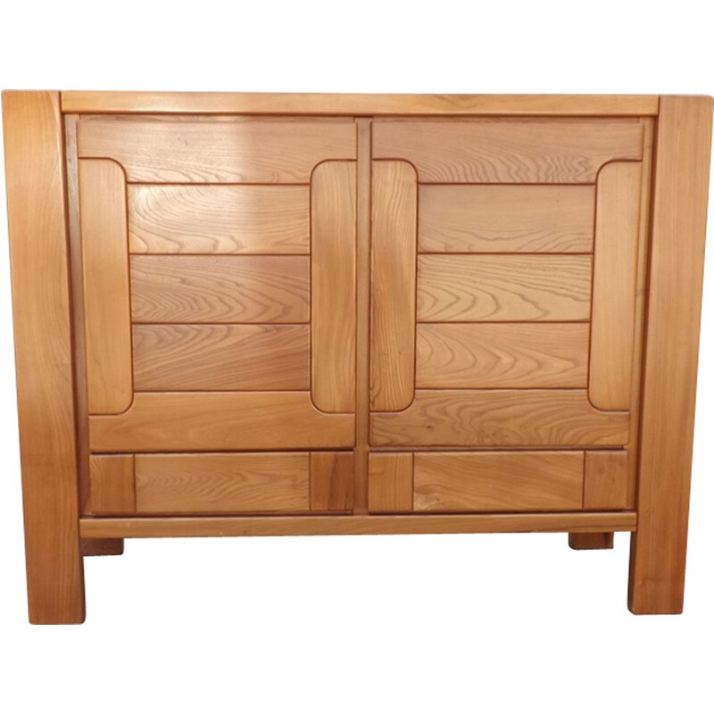 Vintage Elm chest of drawers 1970