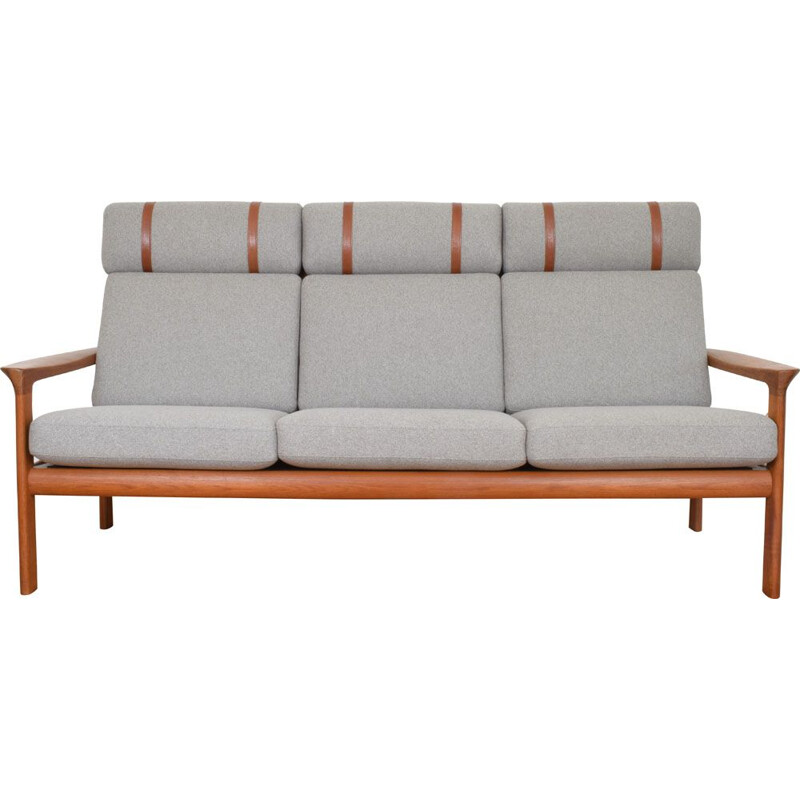 Vintage sofa in teak Borneo by Sven Ellekaer for Komfort, 1960s