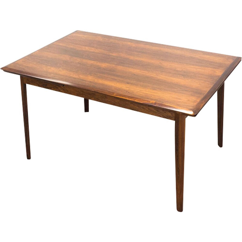 Vintage dining table in rosewood extendable by ES Møbler
