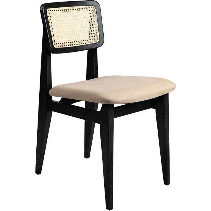 """C-Chair"" in leather, Marcel Gascoin for GUBI"