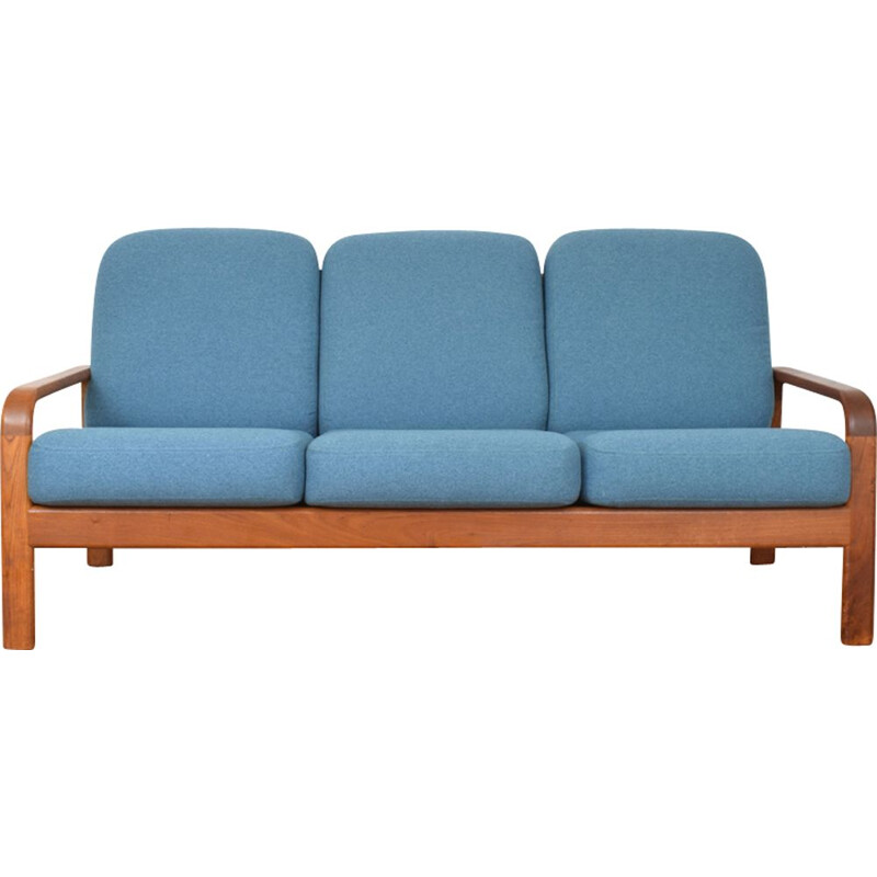 Vintage Danish 3-seater sofa in teak,1970