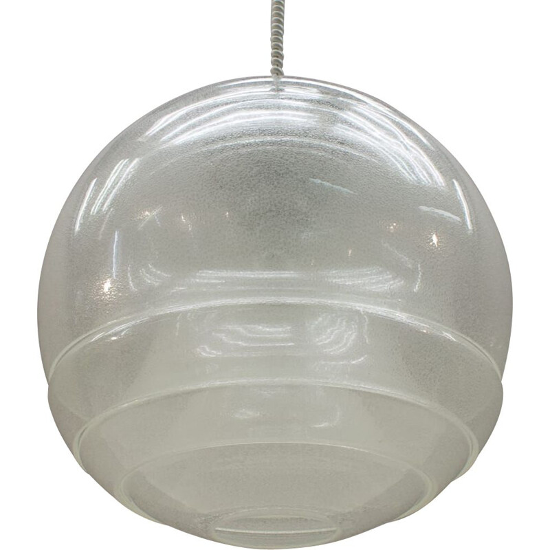 Vintage pendant light by Carlo Nason for Mazzega,1960