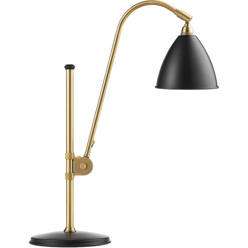"""Bestlite BL1"" lamp, brass base, Robert Dudley Best for GUBI"