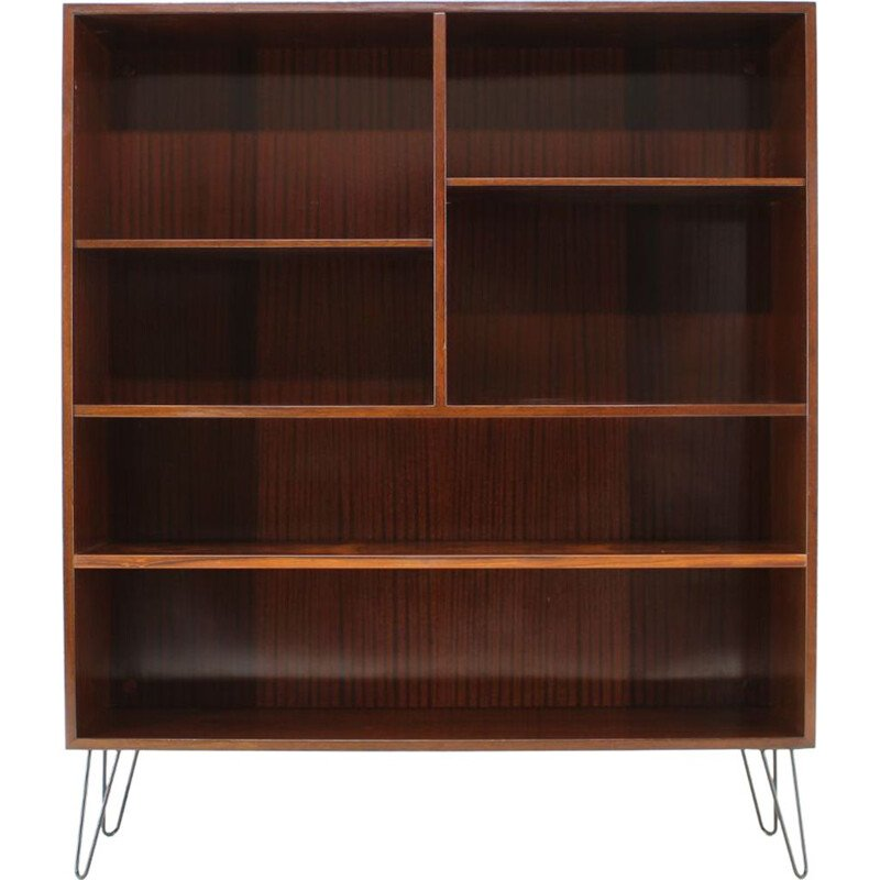 Vintage bookcasse in rosewood by Omann Jun,1960