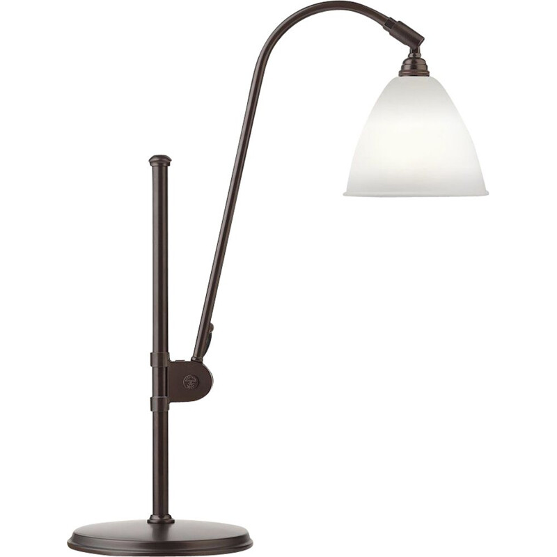 """Bestlite BL1"" lamp, black brass base, Robert Dudley Best for GUBI"