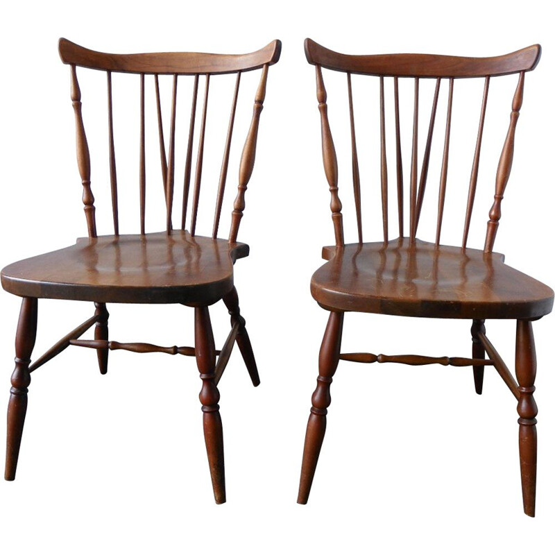 Set of 2 vintage chairs from Casala 1960