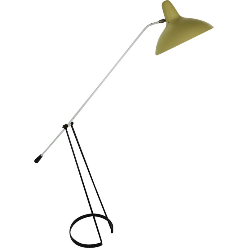 Vintage floor lamp by Floris Fiedeldij Tivoli Grasshopper for Artimeta 1956