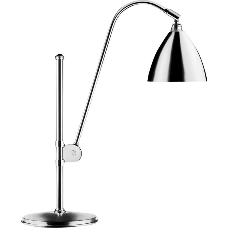 """Bestlite BL1"" lamp, chrome base, Robert Dudley Best for GUBI"