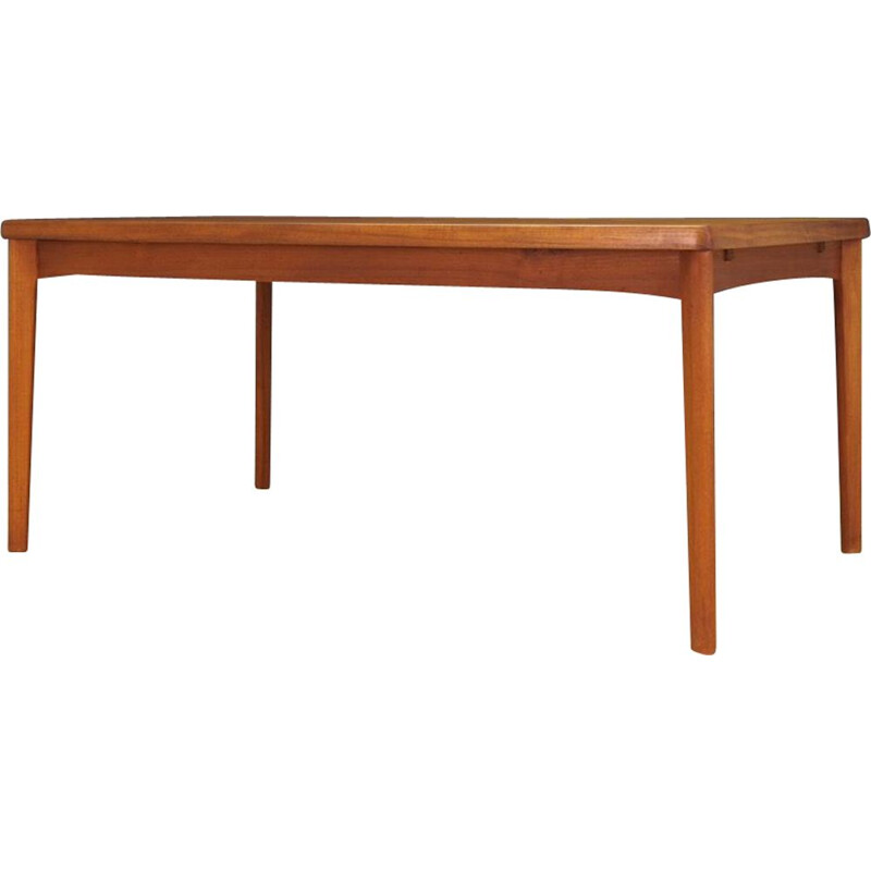 Vintage dining table in teak by Henning Kjaernulf for Vejle Stole Og 60-70s