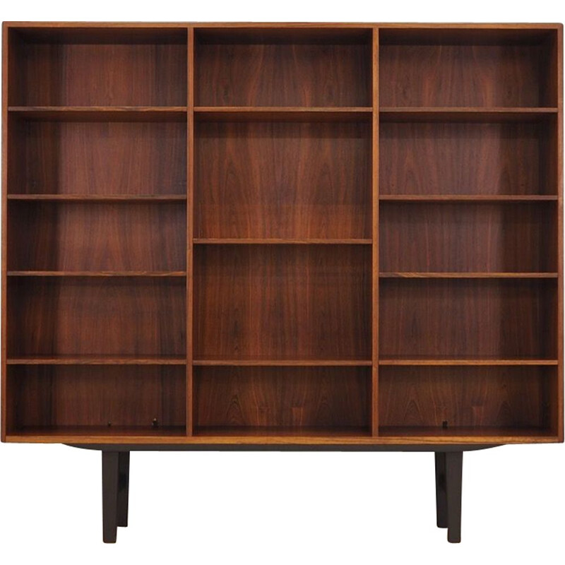 Vintage bookcase in rosewood by Carlo Jensen for Hundevad & Co