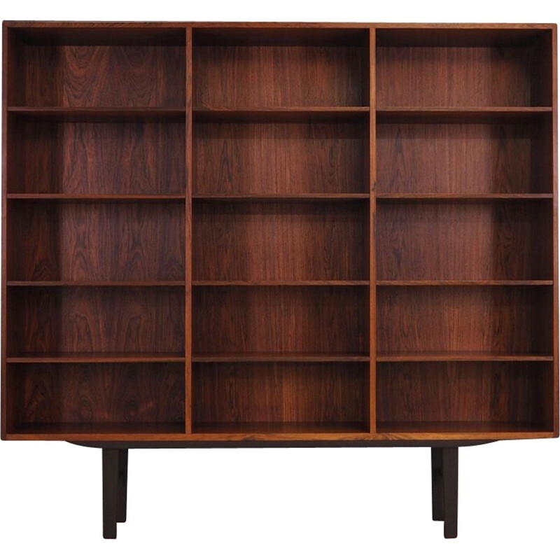Vintage bookcase in rosewood by Carlo Jensen for Hudnevad & Co 60-70s