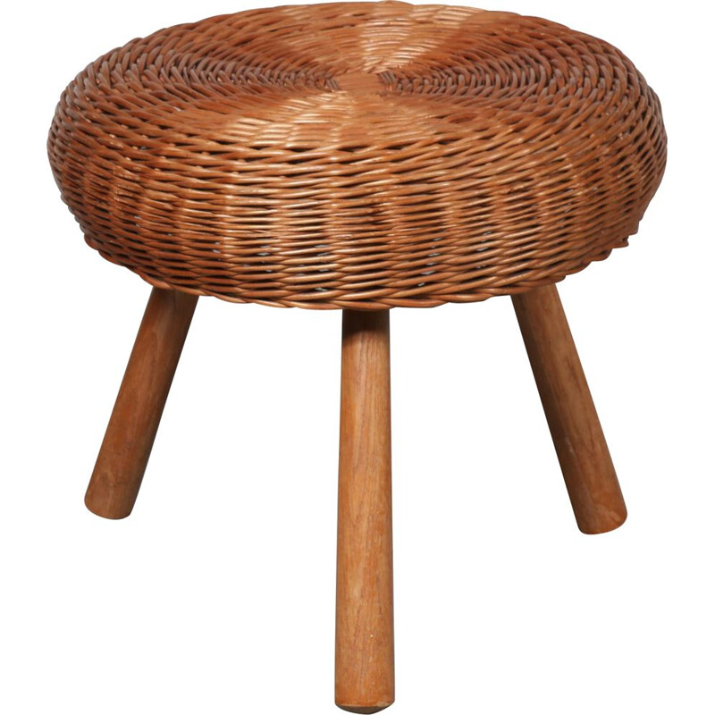 Vintage tripod stool by Tony Paul