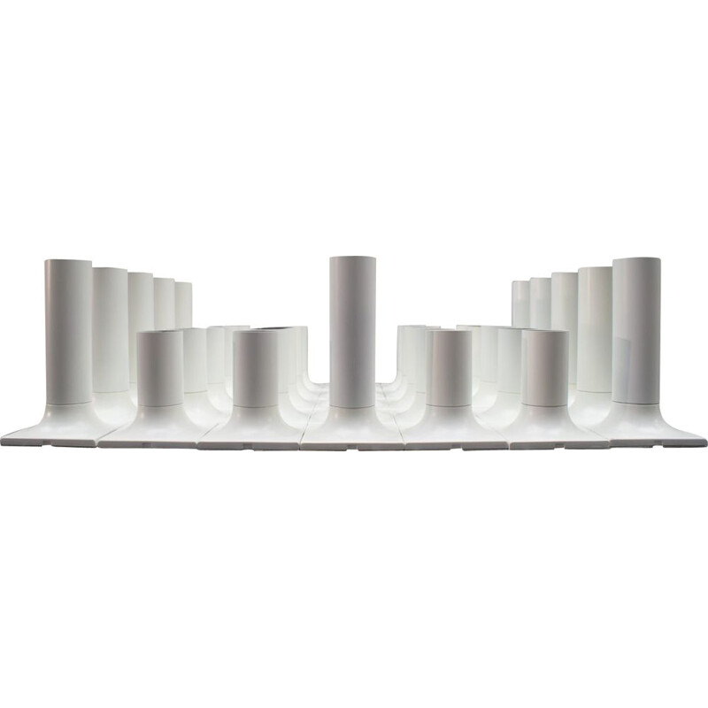 Set of 101 ceiling or wall lamps by Rolf Krüger for Staff