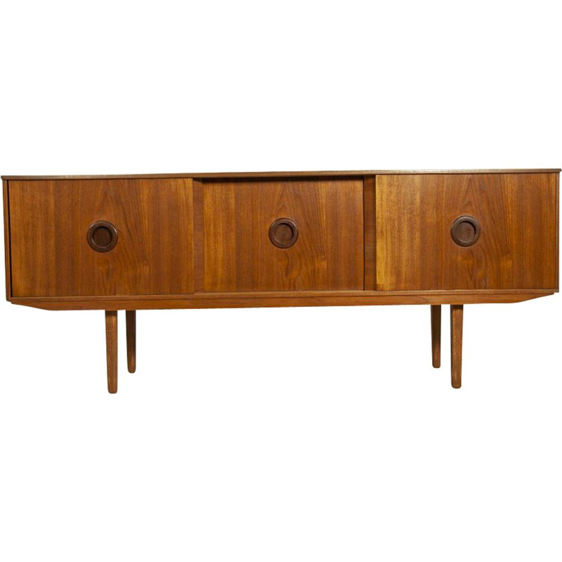 Vintage sideboard in teak, UK 1960