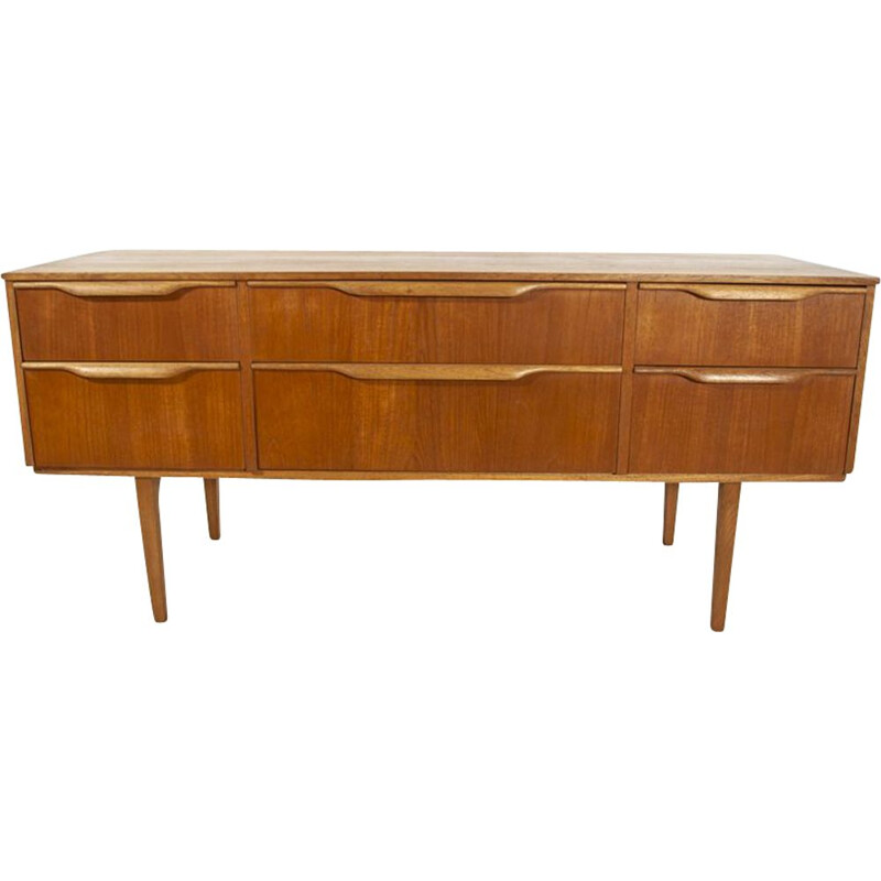 Vintage chest of drawers in teak Denmark 1960s