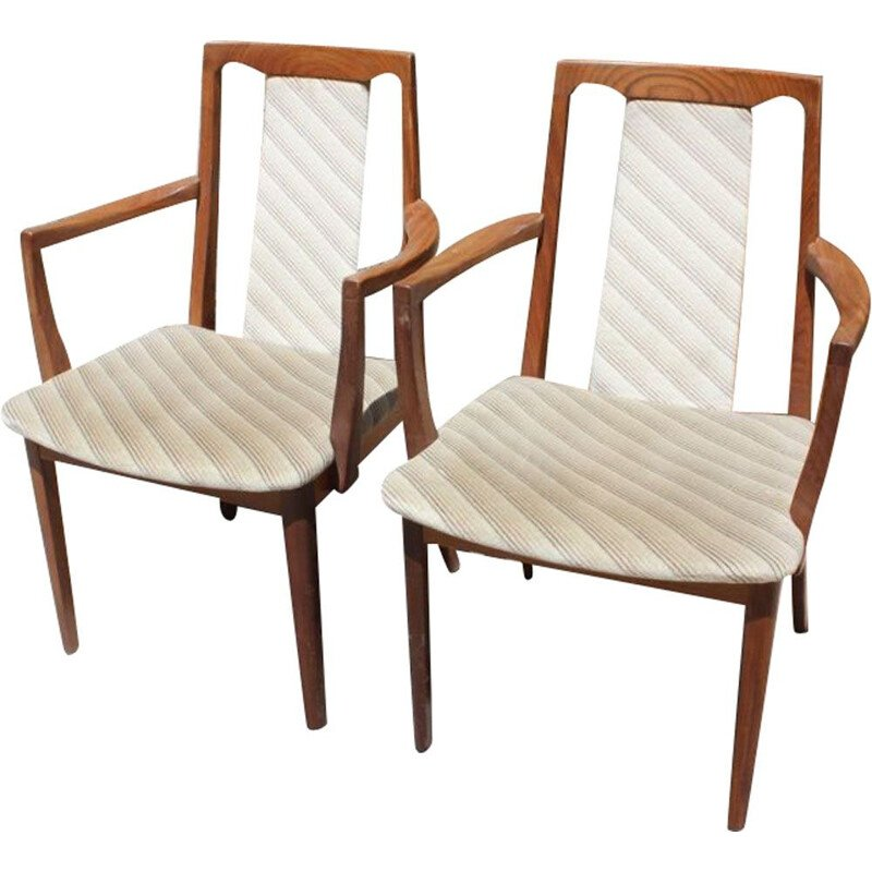 2 vintage chairs in teak by G-PLAN 1970s