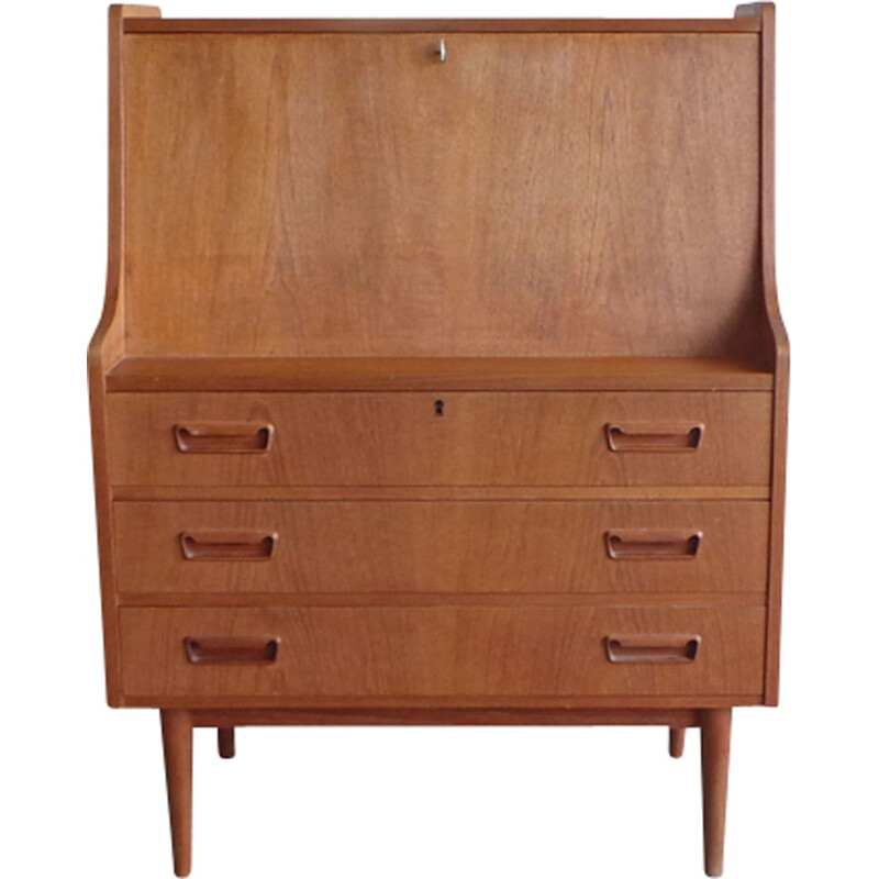 Danish vintage secretary in teak
