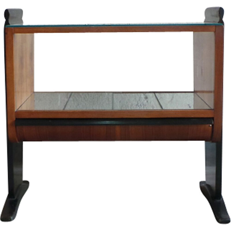 Vintage bar cart by Jindrich Halabala for UP Zavody