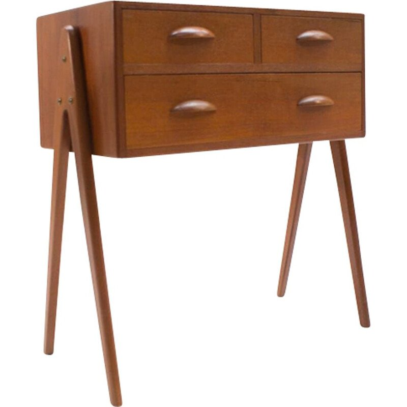Vintage chest of drawers in teak from Barovero