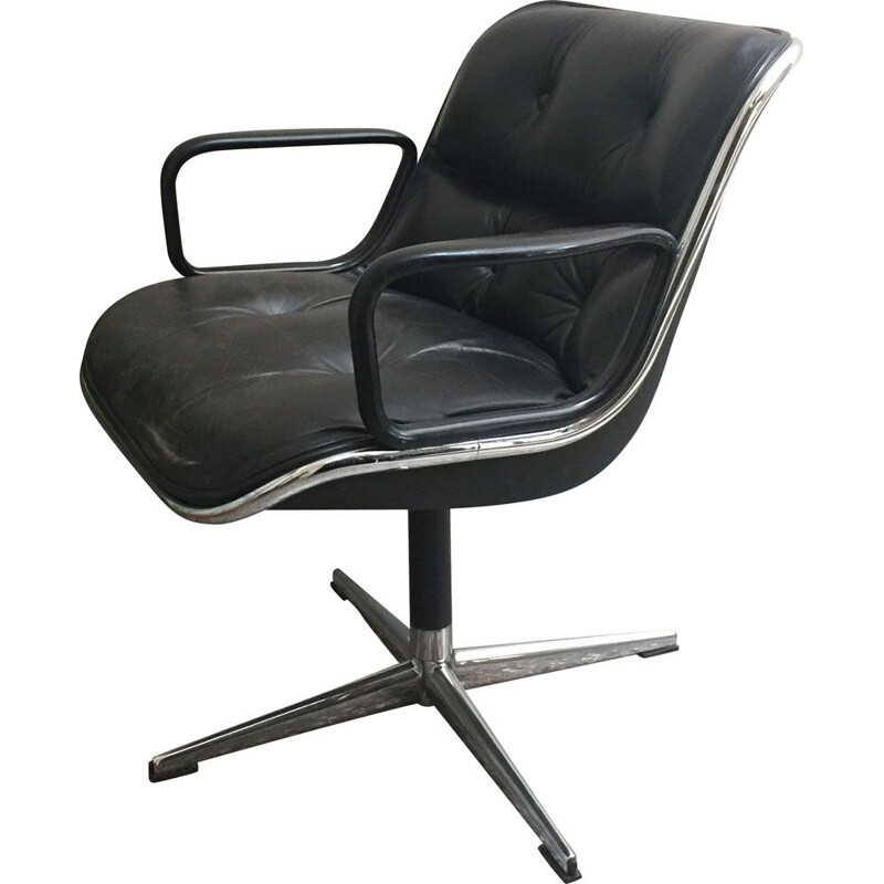 Vintage office chair by Charles Pollock