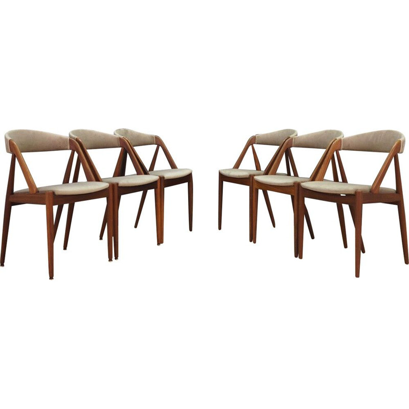 Set of 6 vintage chairs Kai Kristianesn