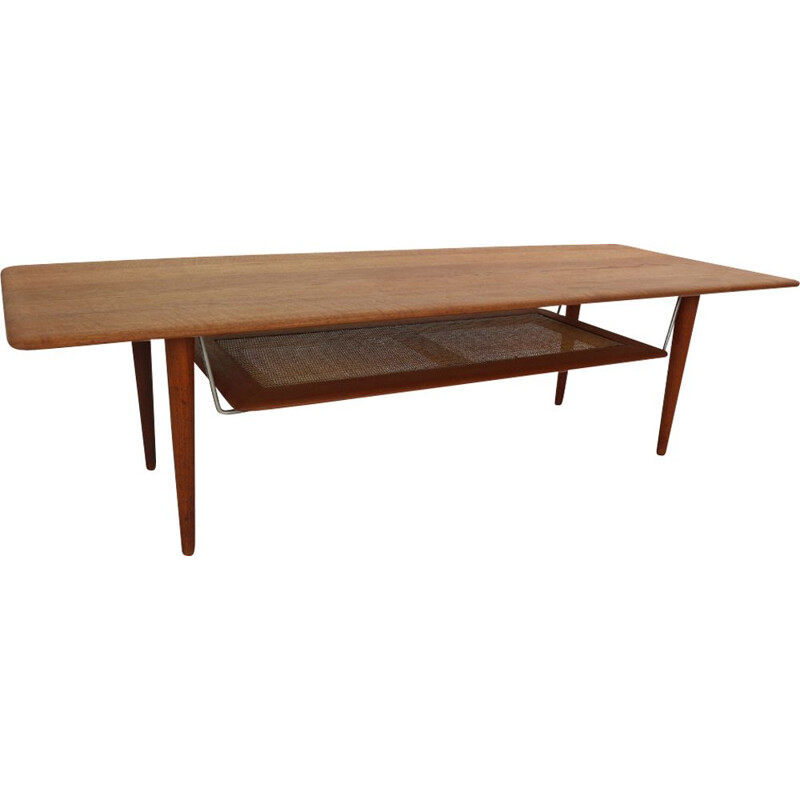 Vintage coffee table by Peter Hvidt & Orla Mølgaard Nielsen,1956