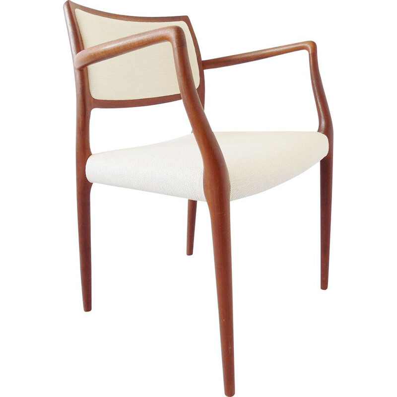 Vintage armchair in teak by Niels Möller Model 65,1960