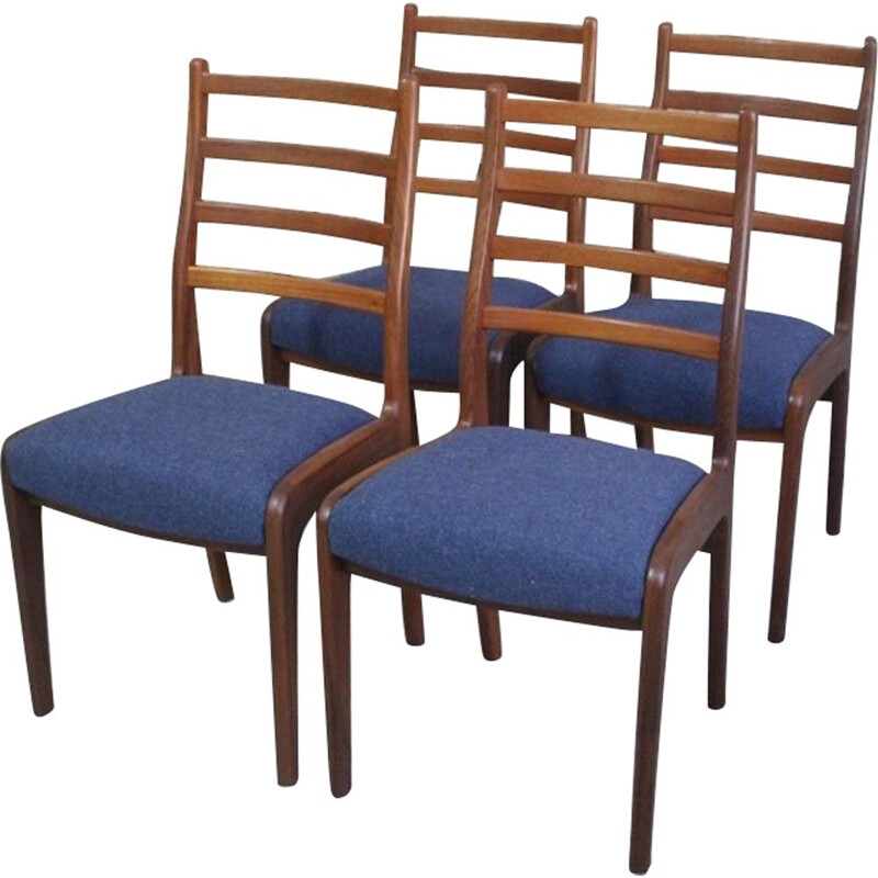 Set of 4 vintage teak chairs by VB Wilkins for G PLAN