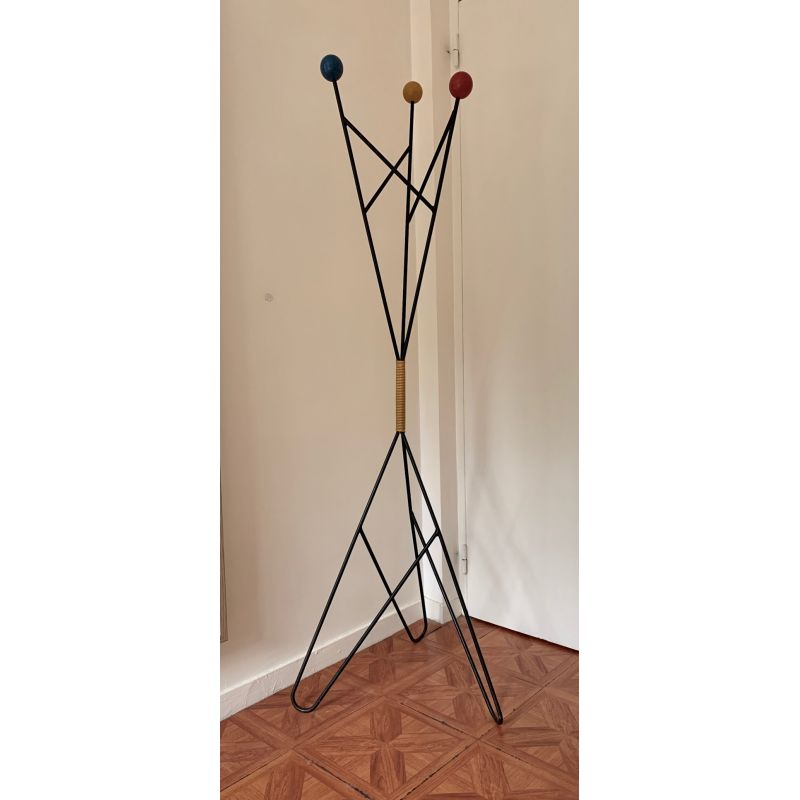 Vintage Coat Rack By Roger Feraud 1960 Design Market