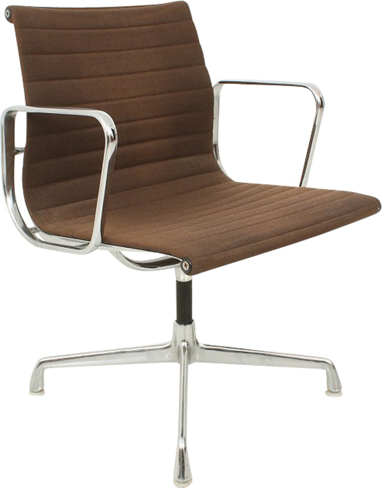 Vitra desk chair in metal charles ray eames 1960s for Metal design chair