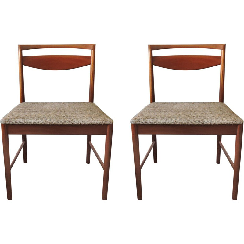 Vintage set of 2 teak chairs from A.H. McIntosh 1970s
