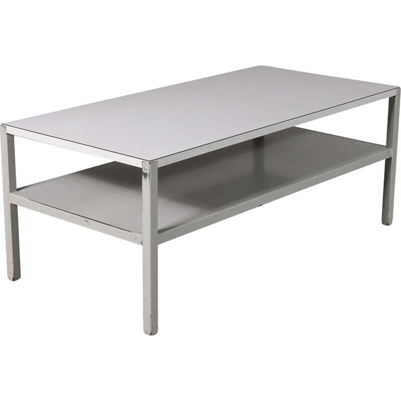 Vintage coffee table by Wim Rietveld for Ahrend de Cirkel 1950s