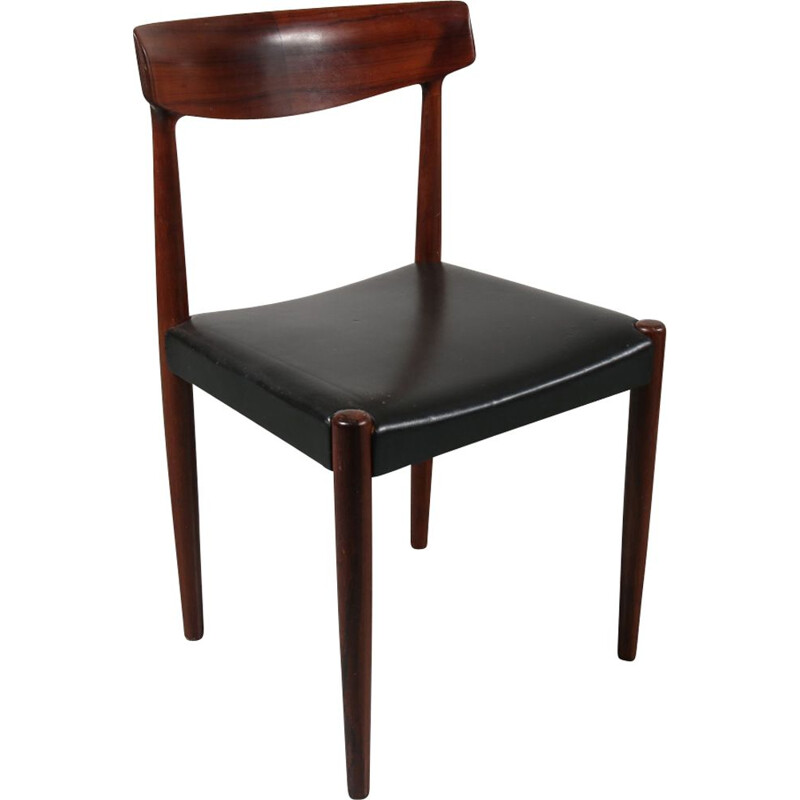 Vintage rosewood chair attributed to Knud Faerch by Bovenkamp 1960s
