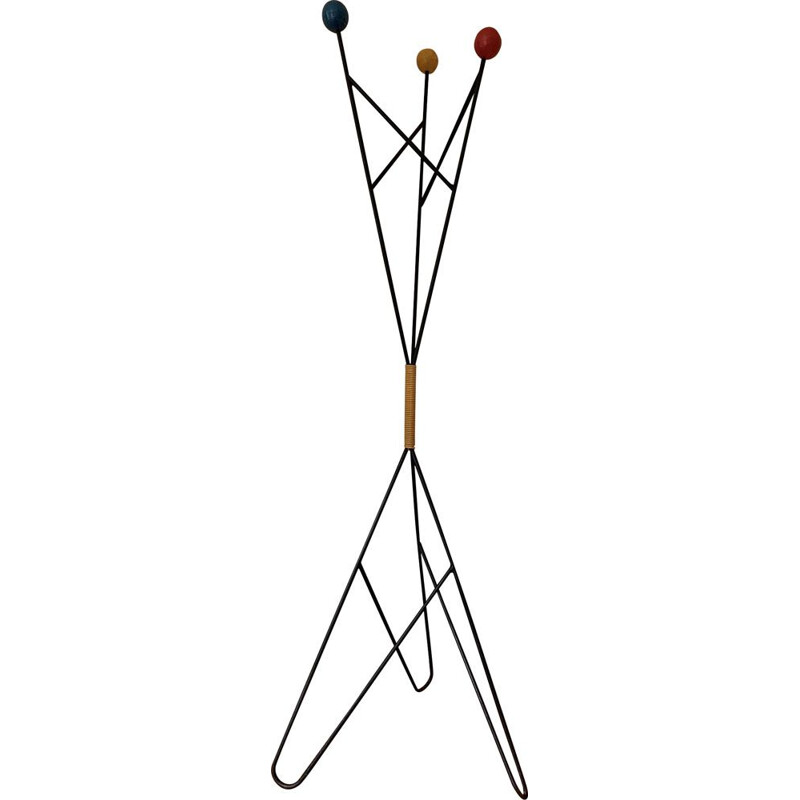 Vintage coat rack by Roger FERAUD,1960