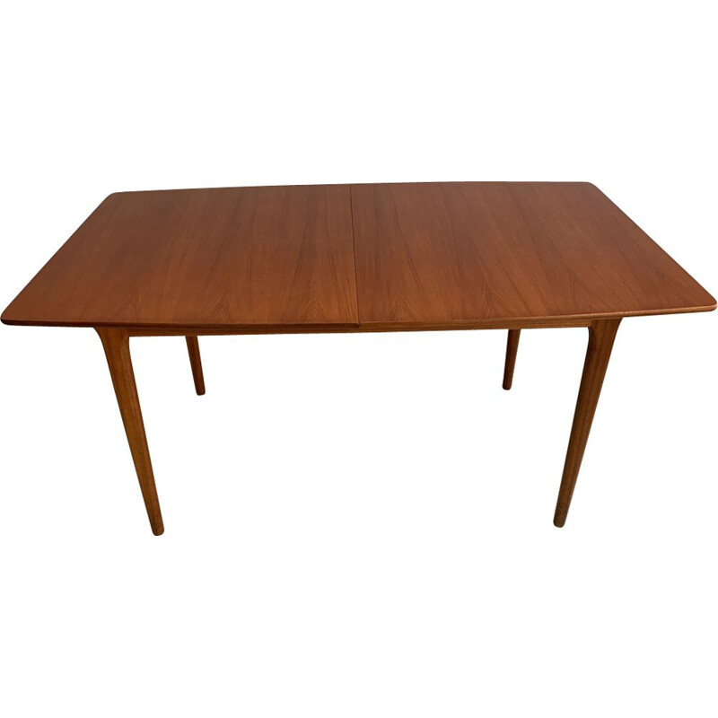 Vintage dining table in teak by McIntosh,1960