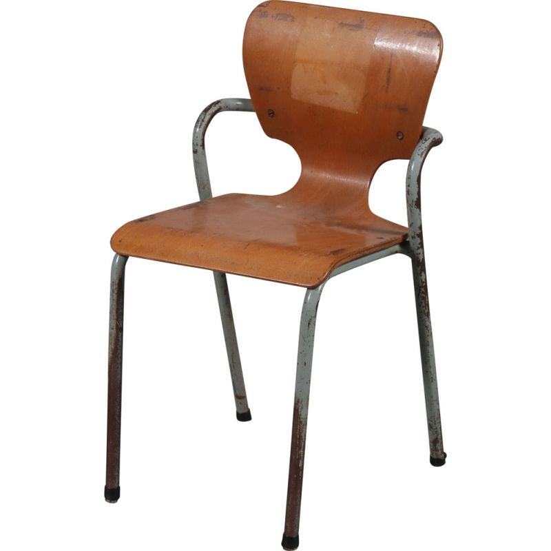 Vintage dining chair by Ahrend de Crikel,Netherlands,1950