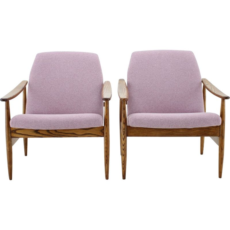 Vintage pair of armchairs from the 60s