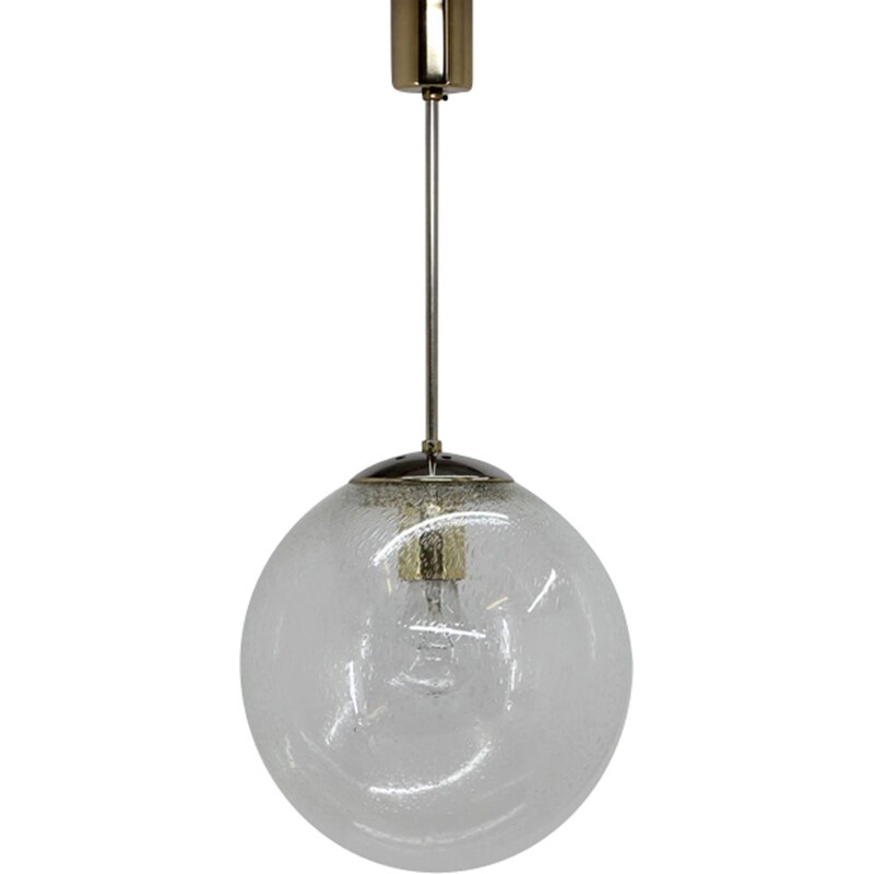 Vintage Czechoslovakian pendant light,1960