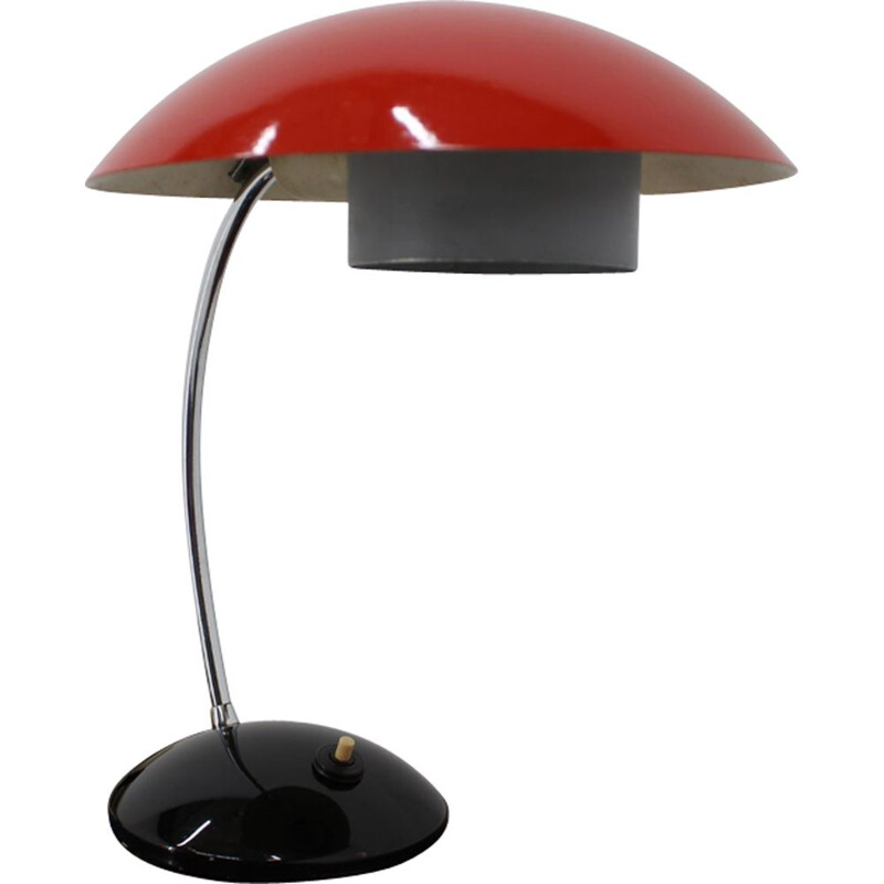 Vintage Czechoslovakian table lamp from the 60s