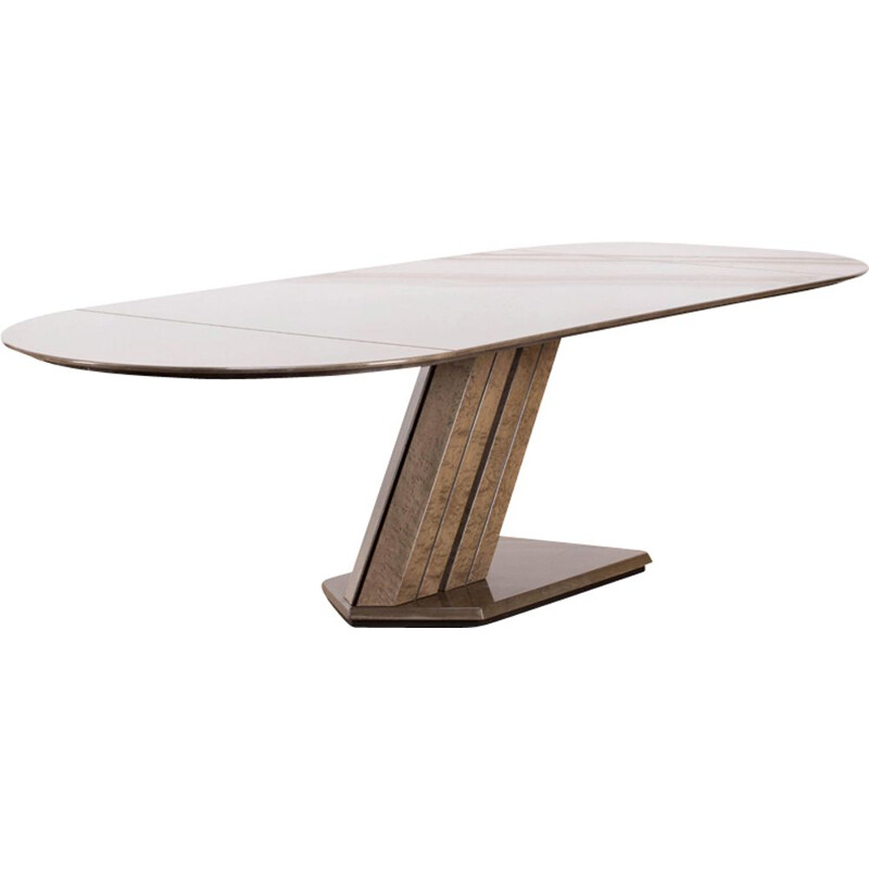 Vintage Table by Giovanni Offredi for Saporiti 1970s