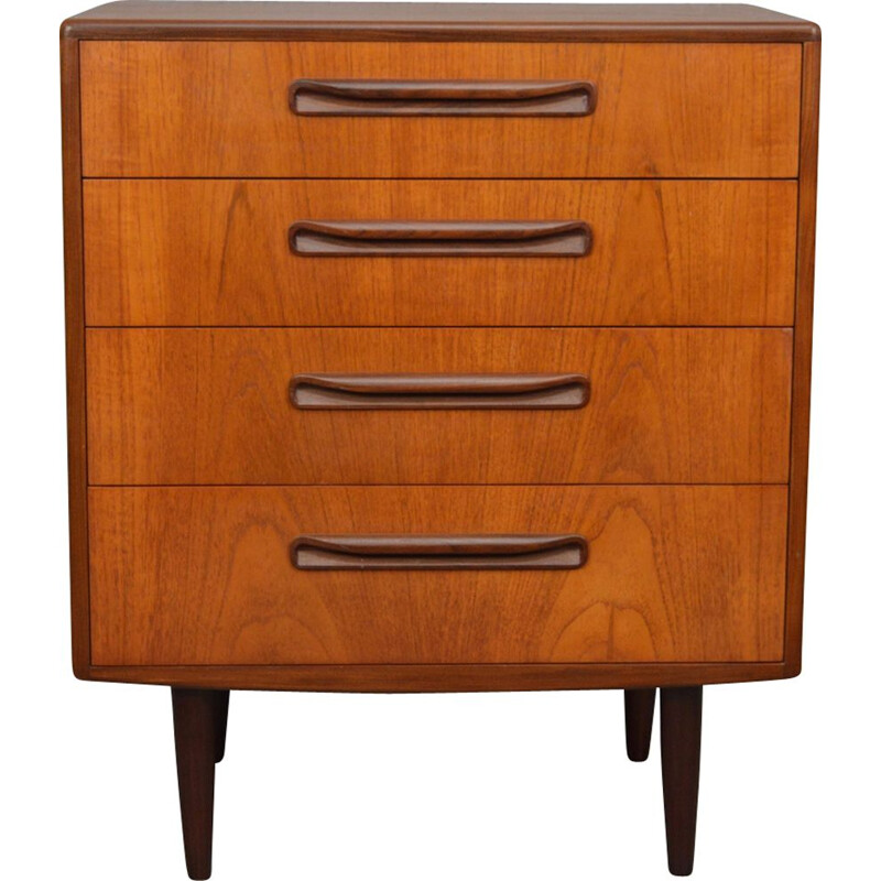 Vintage chest of drawers Fresco by Victor Wilkins for G Plan 1960s