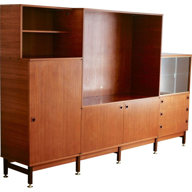 Vintage storage unit by André Monpoix for Meubles TV
