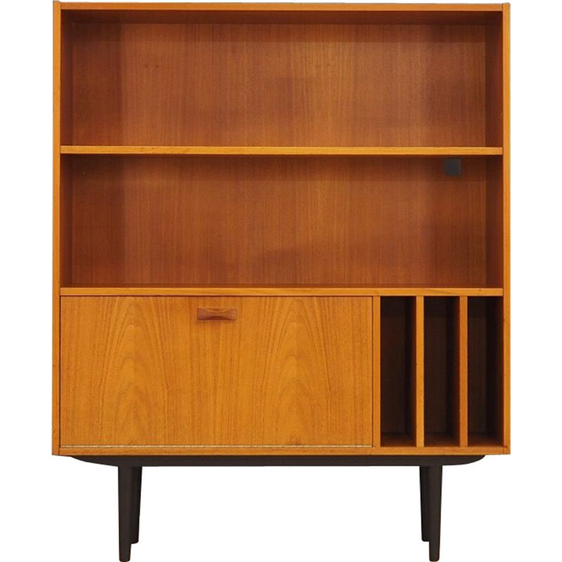 Vintage teak bookcase by Clausen & Son