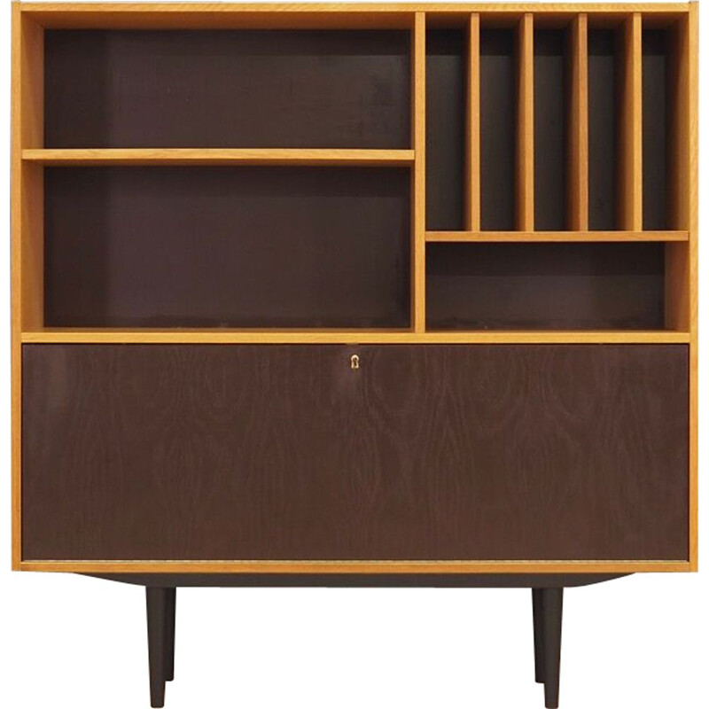 Vintage bookcase in ash wood by Domino Mobler