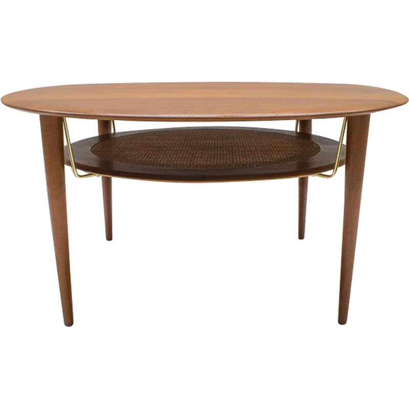 Vintage coffee table by Peter Hvidt for France & Søn