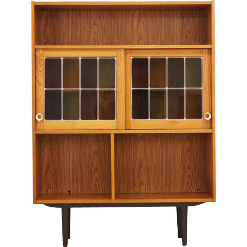 Danish vintage bookcase in teak