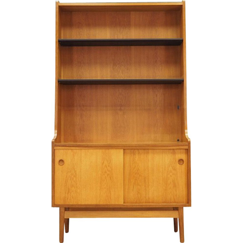 Vintage ash bookcase by Johannes Sorth, 1960