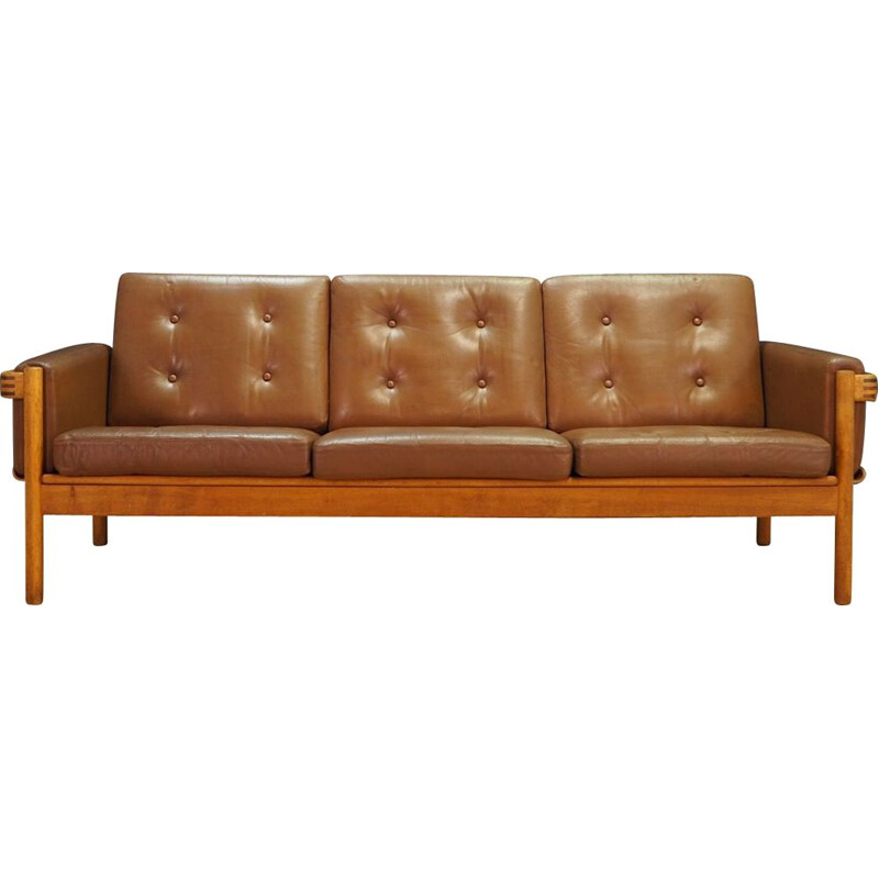 Vintage Danish 3-seater sofa by H.W Klein for NA Jørgensens Møbelfabrik,1970